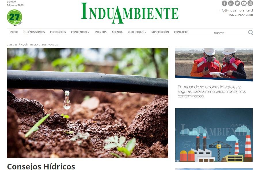 noticia: gestión hídrica