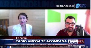 Claudia Galleguillos. Radio Ancoa