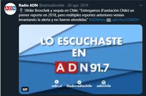 Tuit de Radio ADN