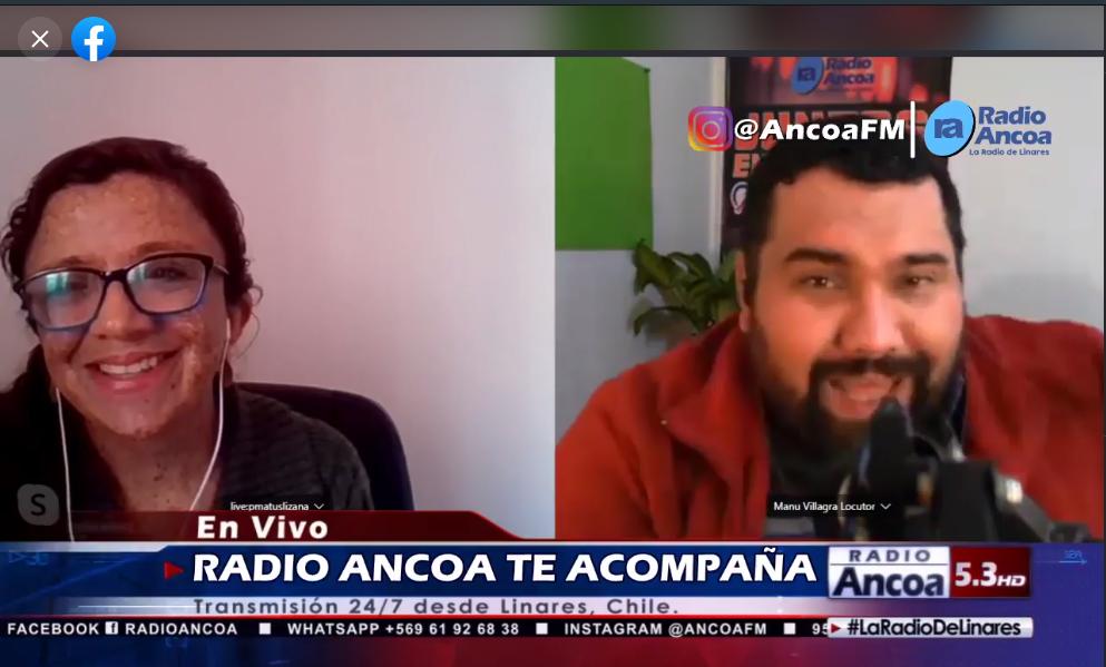 Entrevista Radio Ancoa