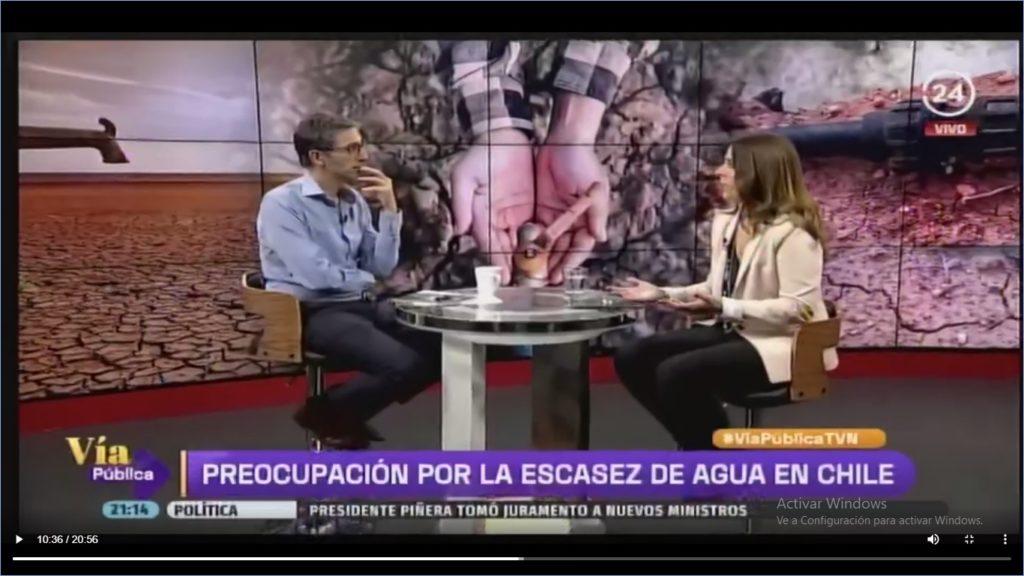 entrevista: Escasez de agua en Chile