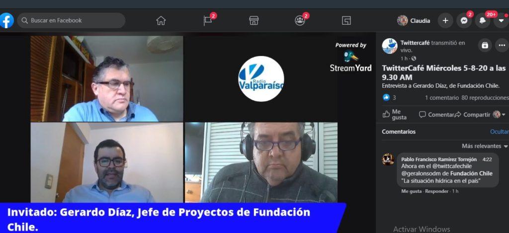 Entrevista radio valparaiso